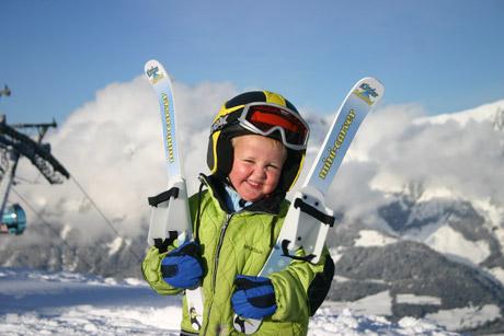 Mini carver ski